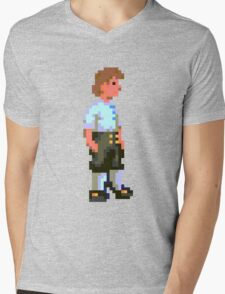 Guybrush (Monkey Island 1) Mens V-Neck T-Shirt