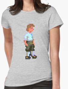 Guybrush (Monkey Island 1) Womens Fitted T-Shirt