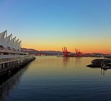 Vancouver Waterfront by Jessica Gunter