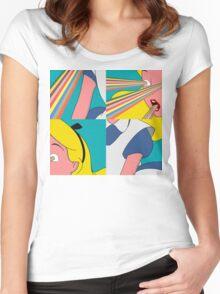 Alice is Dead (II) Women's Fitted Scoop T-Shirt