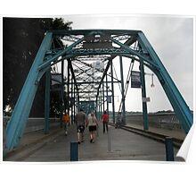 Walnut Street Bridge Poster