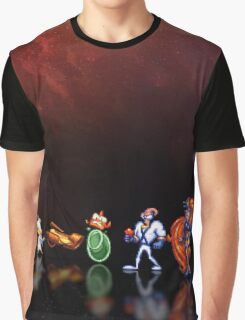 Earthworm Jim pixel art Graphic T-Shirt