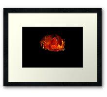 Night Lamp Framed Print