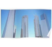 New World Trade Center rendering Poster