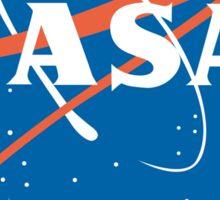 NASA Never A Straight Answer Sticker