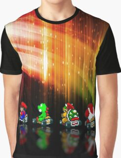 Super Mario Kart pixel art Graphic T-Shirt