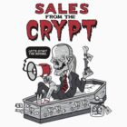 Sales From The Crypt Sticker by Lapuss