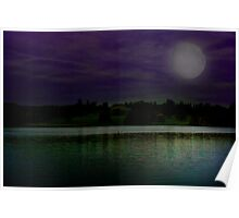 Gatton Hall Lake  Poster