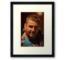 Jimmy ♥ ♥ ♥  Giacomo ♥ ♥ ♥ Jakub. Framed Print