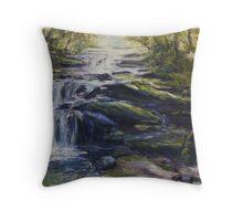 Leura Cascades, Blue Mountains, NSW Throw Pillow