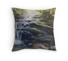 Leura Cascades, Blue Mountains, NSW Throw Pillow