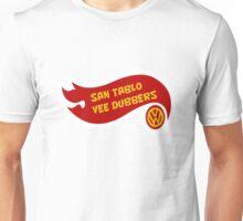 San Tablo Vee Dubbers Flame art Unisex T-Shirt