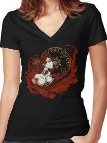 Melisandre of Asshai Women's Fitted V-Neck T-Shirt