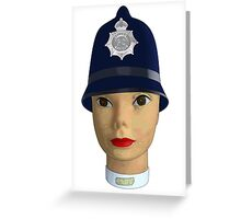 head of the police Greeting Card