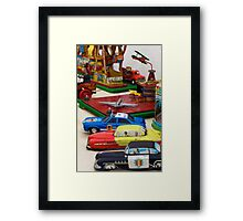 Old Toys  Framed Print