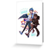 Regular Show - Nerd Team Greeting Card