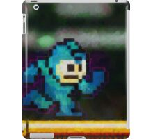 Mega Man retro painted pixel art iPad Case/Skin
