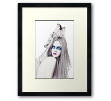 Shadows Keeper Framed Print