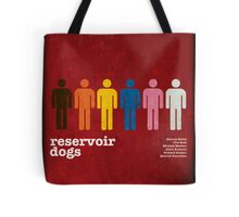 Reservoir Dogs Poster (Filtered) Tote Bag