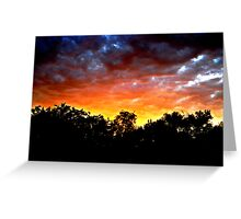 The Colors Tell The Story Greeting Card