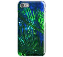 Beautiful Blue Palm iPhone Case/Skin