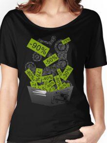 Steam Sales : Empty wallet season Women's Relaxed Fit T-Shirt