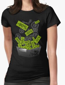 Steam Sales : Empty wallet season Womens Fitted T-Shirt