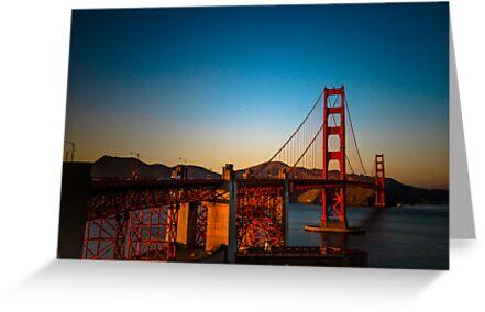 Golden Gate Bridge by Webitect
