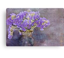 Shades of Violet Canvas Print