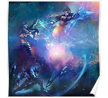League of Legends - The AD Carries - Vayne, Draven, Ashe  Poster