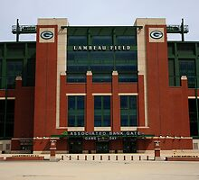 Lambeau Field - Green Bay Packers by Frank Romeo