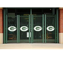 Lambeau Field - Green Bay Packers Photographic Print