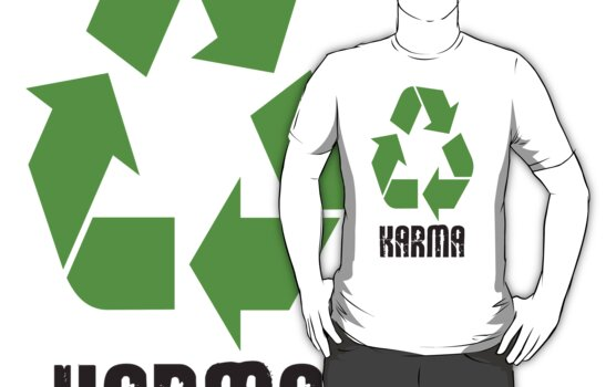 Karma is linked to recycle by nadil