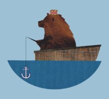 Cheltenham the Bear: Fishing Trip Kids Tee