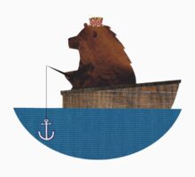 Cheltenham the Bear: Fishing Trip Baby Tee