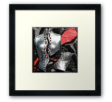 Trying to keep it together… Framed Print