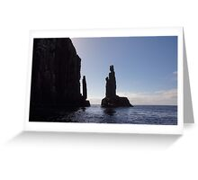 Beautiful Tasmania - The Monument Greeting Card