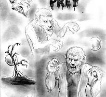 Werewolves stalk their prey ! by mattycarpets