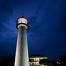 Biloxi Lighthouse at Night by Jonicool