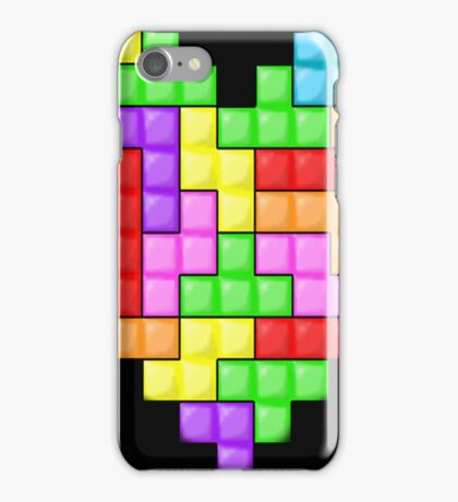 Tetris heart iPhone Case/Skin