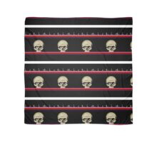 skull stripes Scarf