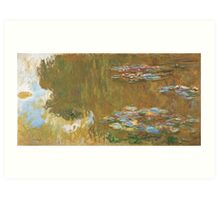The Water Lily Pond, c. 1917-19 by Claude Monet Art Print