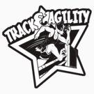 Track & Agility (Black/White) (Sticker version) by Zhivago
