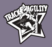 Track & Agility (Black/White) (Sticker version) Kids Clothes