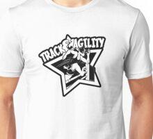 Track & Agility (Black/White) (Sticker version) Unisex T-Shirt