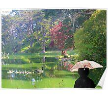 Stow Lake Morning Walk Poster