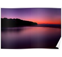 Sunrise at North Curl Curl Surf Club Poster