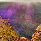 Purple haze - catching the sunset at the Grand Canyon by Chris Brunton