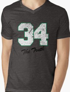Celtics Numbers - The Truth no. 34 Mens V-Neck T-Shirt