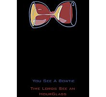 Doctor Who's Bowtie Photographic Print